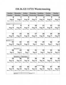 Earth Epic Calendar 11721